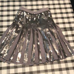 Banana Republic short sequin skirt w/tags size 14